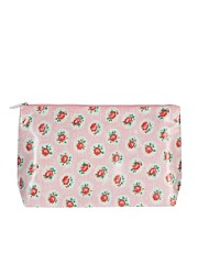 Cath Kidston - Beauty case con stampa a reticolo e rose