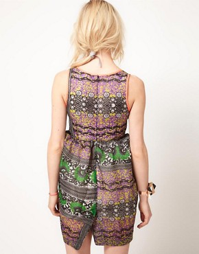 Image 2 ofASOS Africa Dress In Mombasan Print