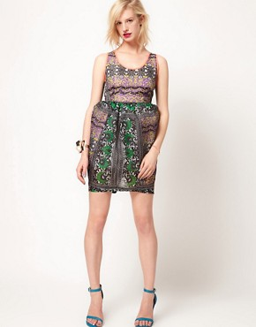 Image 4 ofASOS Africa Dress In Mombasan Print