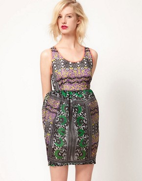 Image 1 ofASOS Africa Dress In Mombasan Print