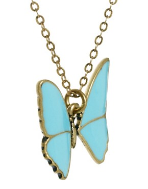 Image 4 ofCath Kidston Butterfly Necklace