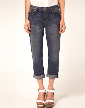 Image 4 ofCurrent/Elliott The Boyfriend Jeans in Loved