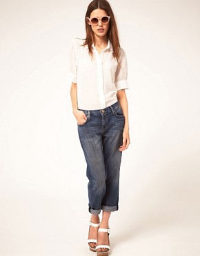 Image 1 ofCurrent/Elliott The Boyfriend Jeans in Loved