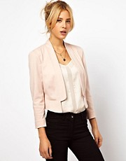 ASOS Blazer in Ponte with Notch Lapel