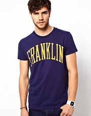 Franklin &amp; Marshall T-Shirt with Franklin Print