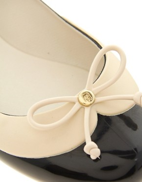 Image 2 ofMelissa Divine II Bow Ballets Flats