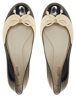 Image 3 ofMelissa Divine II Bow Ballets Flats