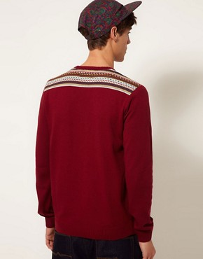 Image 2 of ASOS Fairisle Jumper