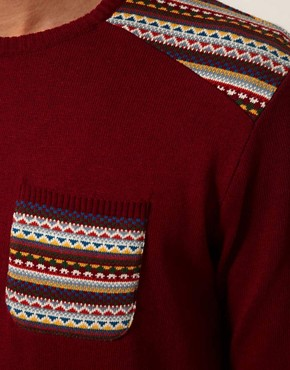 Image 3 of ASOS Fairisle Jumper