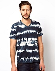 Denim &amp; Supply Ralph Lauren T-Shirt With Tie Dye Print