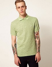 Polo con estampado de lunares del espacio de Fred Perry Laurel Wreath