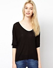 Splendid Drapey Lux Top