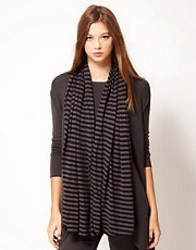 Unconditional Striped Square Scarf