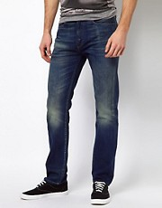 Levis Made &amp; Crafted Jeans Tack Slim Fit Blades Of Glory Wash