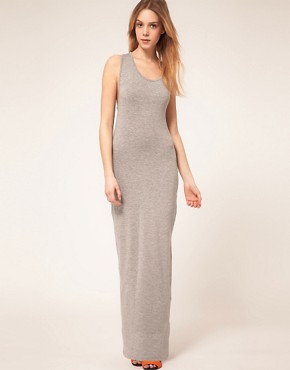 Image 2 ofASOS PETITE Exclusive Maxi Dress With Twist Back