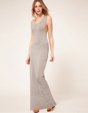 Image 4 ofASOS PETITE Exclusive Maxi Dress With Twist Back