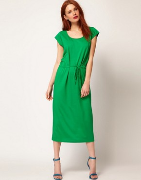 Image 1 ofWhistles Charlotte Jersey Maxi Dress