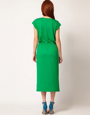 Image 2 ofWhistles Charlotte Jersey Maxi Dress