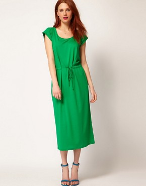 Image 4 ofWhistles Charlotte Jersey Maxi Dress