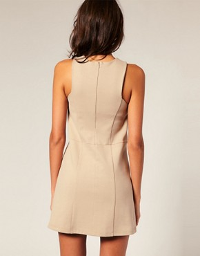 Image 2 ofASOS PETITE Clean Shift Dress