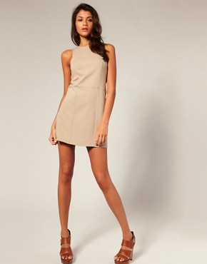Image 4 ofASOS PETITE Clean Shift Dress