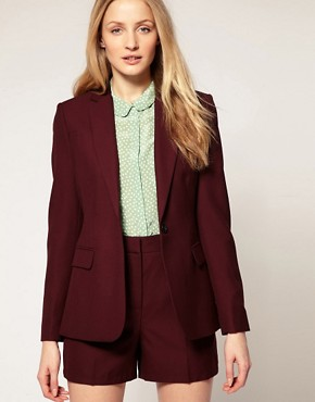 Image 1 ofWhistles Mia Sharp Tailored Jacket