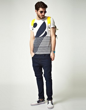 Image 4 ofASOS T-Shirt With Boat Print
