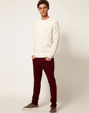 Image 4 ofASOS Cable Knit Jumper