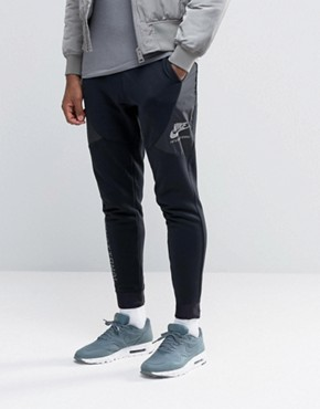 Nike International Skinny Sweatpants In Black 802375-010