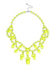 ASOS Premium Jewelled Bib Necklace