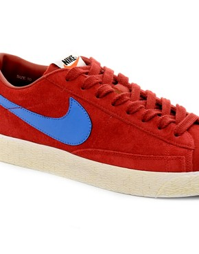 Image 2 ofNike Blazer Low Suede Trainers