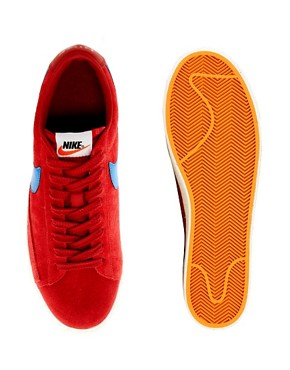 Image 3 ofNike Blazer Low Suede Trainers