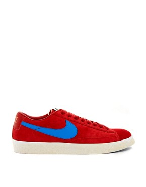 Image 4 ofNike Blazer Low Suede Trainers