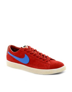 Image 1 ofNike Blazer Low Suede Trainers