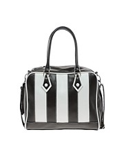 ASOS Multi Stripe Bowler Bag