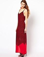 French Connection Maxi Dress In Silk