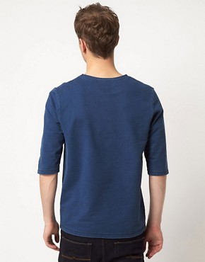 Image 2 ofASOS 3/4 Sleeve Top With Pocket Trim