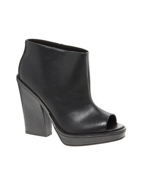 Image 1 ofASOS TAXI Platform Peep Toe Shoe Boots