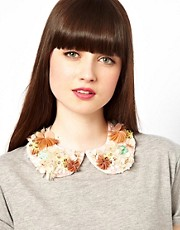 ASOS 3D Multi Floral Collar