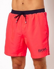 Boss Black Pink Starfish Swim Short
