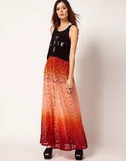Evil Twin Behind The Sun Maxi Skirt