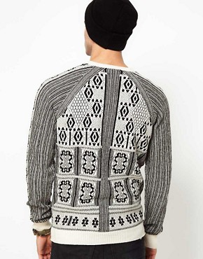 Image 2 ofDiesel Jumper K-Eranthe Crew Neck Knit Pattern