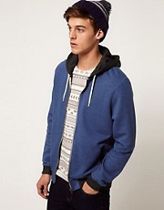 ASOS Hoodie With Contrast Pockets And Hood
