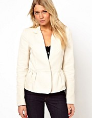 Mango Peplum Blazer