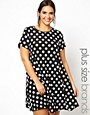 Image 1 of Alice & You Swing Dress In Spot
