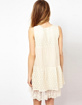 Image 2 ofMina Lace Mix Dress