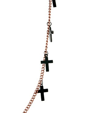 Image 4 ofASOS Cross Necklace