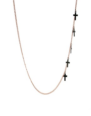 Image 1 ofASOS Cross Necklace