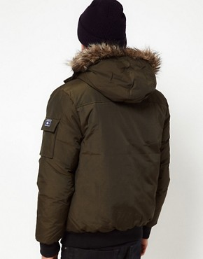 Image 2 ofPenfield Canyon Short Parka with Faux Fur Hood