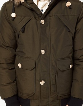 Image 3 ofPenfield Canyon Short Parka with Faux Fur Hood